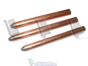 Varilla copperweld con grapa – 1.8 mts